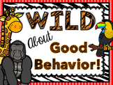 Jungle - Zoo - Safari - Animal Themed - Class Expectations Class Rules