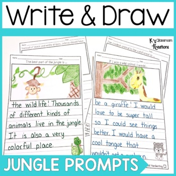 Jungle and Safari Writing Prompts