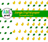 Jungle digital paper (zoo, papier numérique)