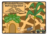 Jungle math learning safari math centers
