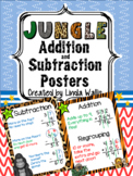 Jungle theme Addition & Subtraction Poems