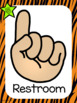 Jungle theme Hand Signals Posters
