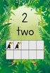 Jungle themed Number posters- 0-20