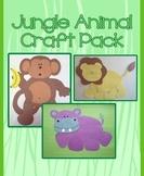Jungle Animal Craft Pack - 3 Craft Bundle