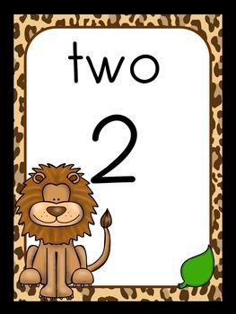 Jungle/Safari Theme Classroom Decor