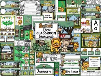 Safari Theme Decor Pack