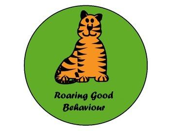 JungleTheme Stoplight Behaviour Chart