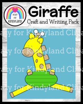 Zoo Craft and Writing: Giraffe