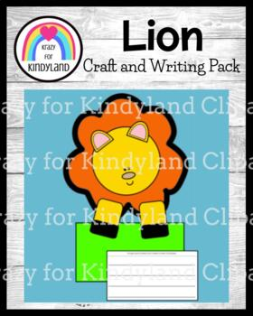 Zoo Craft and Writing: Lion