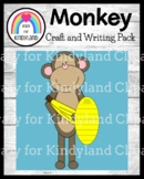 Monkey Craft and Writing (Zoo)