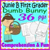 Junie B Jones Dumb Bunny Easter Reading Comprehension Activity Book Companion