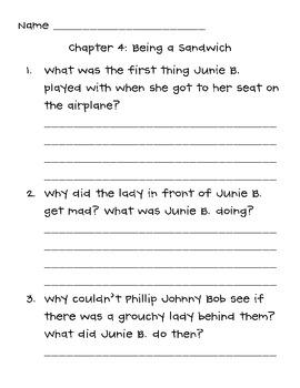Junie B., First Grader Aloha, ha, ha! Book Club Packet