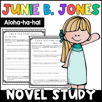 Junie B. First Grader, Aloha-ha-ha!: Complete Unit of Reading Responses