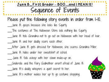 Junie B., First Grader - BOO...and I MEAN It! by Barbara Park
