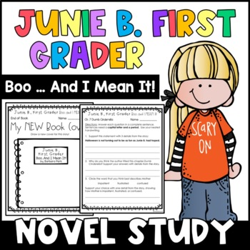 Junie B. First Grader, Boo... And I MEAN It!: Complete Unit of Reading Responses