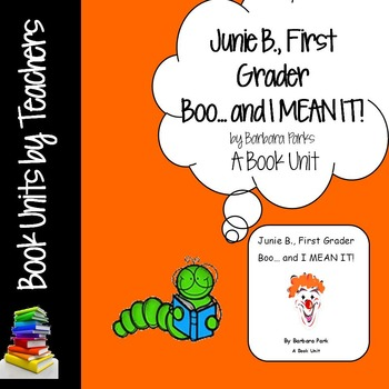 Junie B First Grader Boo and I MEAN IT! by Barbara Park