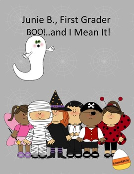 Junie B., First Grader : Boo--and I Mean It!
