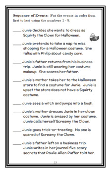 Junie B., First Grader Boo... and I Mean It! (Park) Novel Study / Comprehension