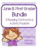 Junie B., First Grader Bundle (5 Reading Contracts & Activ