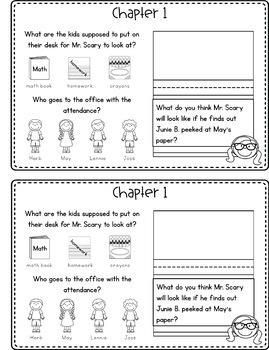 Junie B., First Grader: Cheater Pants Reading Response Journal