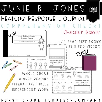Junie B. Jones | Cheater Pants | Reading Comprehension | Book Companion