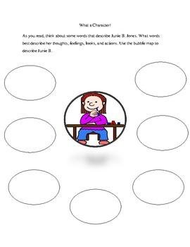 Junie B. First Grader Cheater Pants Unit Plan