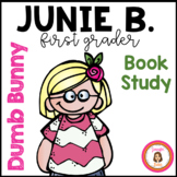 Junie B., First Grader: Dumb Bunny Book Packet