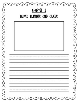 Junie B., First Grader Dumb Bunny {Literacy Companion Pack}