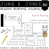 Junie B., Easter Reading Response Journal with Comprehension Questions