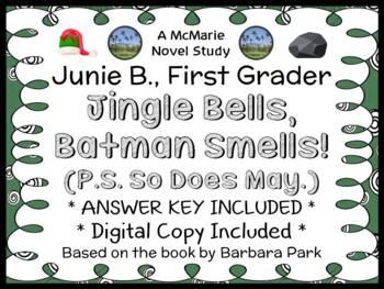 Junie B., First Grader: Jingle Bells, Batman Smells! (Barbara Park) Novel Study