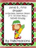 Junie B. Jones Jingle Bells, Batman Smells! Novel Study