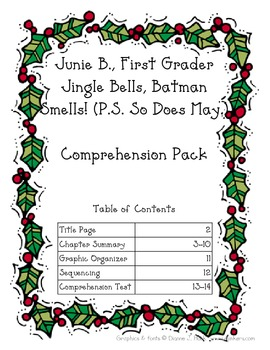 Junie B., First Grader Jingle Bells, Batman Smells (P.S. So Does May.)