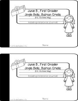 Junie B. Jones | Christmas Activities | Reading Comprehension | Book Companion
