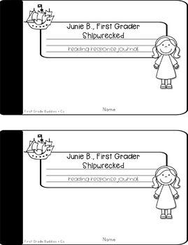 Junie B., First Grader: Shipwrecked Reading Response Journal