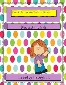 Junie B., First Grader: TOOTHLESS WONDER - Discussion Cards