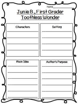 Junie B., First Grader Toothless Wonder