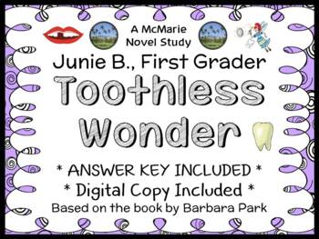 Junie B., First Grader Toothless Wonder (Barbara Park) Nov
