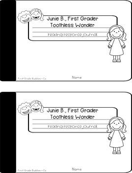 Junie B. Jones | Toothless | Reading Comprehension | Book Companion | Journal