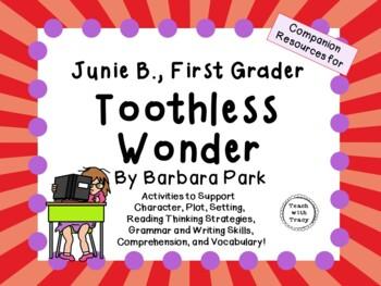 Junie B., First Grader - Toothless Wonder by Barbara Park:
