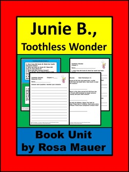 Junie B., First Grader: Toothless Wonder by Barbara Park B