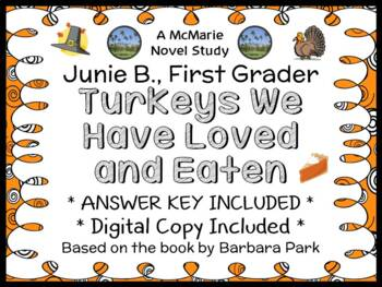 Junie B., First Grader Turkeys We Have Loved and Eaten (Pa