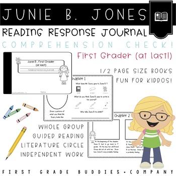 Junie B. Jones | School | First at Last | Reading Comprehension | Book Companion