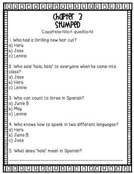Junie B., First Grader (at last!) {Literacy Companion Pack}