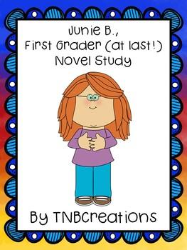 Junie B., First Grader (at last!) Novel Study