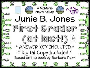 Junie B., First Grader (at last!) Novel Study / Reading Co