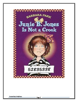 Junie B. Is Not a Crook book club