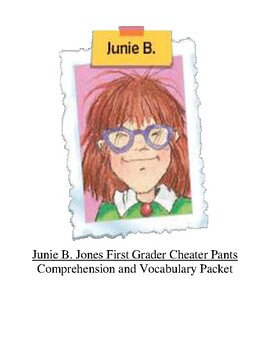 Junie B Jones First Grader Cheater Pants Guided Reading Unit Level M