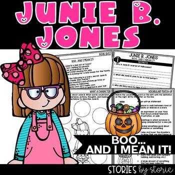 Junie B. Jones BOO...and I Mean It!