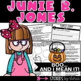 Junie B. Jones BOO and I Mean It!