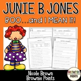 Junie B. Jones - Boo And I Mean It